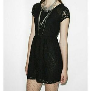 Coincidence & Chance Black Lace Dress
